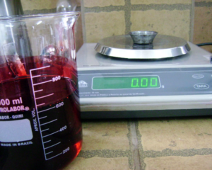 Determination of resin solids content. To ensure the quality of the resin used for bonding the panels